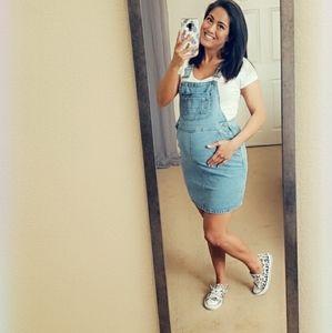 ASOS Maternity Overall Denim Dress